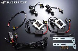 【スフィアライト】 LEDのH4やシェードは?