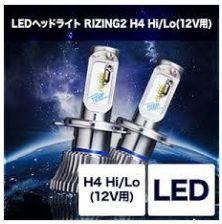 LEDヘッドライト RIZING2 H4 Hi/Lo 12V用